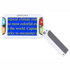 Candy 5 Hd Ii Portable Rechargeable Video Magnifier Ships Next Day