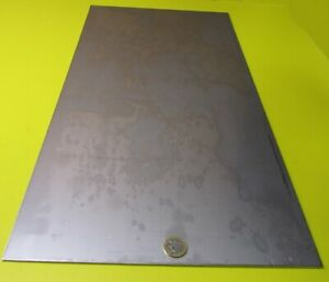 316 Stainless Steel Sheet Annealed 105 Thick X 12 Wide X 24 Length