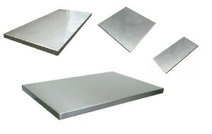 316 316l Stainless Steel Sheet 1 2 500 Thick X 12 W X 12 Length 1 Unit