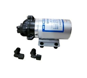 24v Mini Diaphragm Pump Boost Househould Water And Seawater Desalt On The Boat