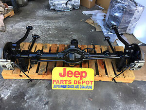 2007 2018 Jeep Wrangler Jk Rear Differential Rubicon E Locking Axle Dana 44 4 10