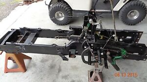 John Deere 955 4x4 Parting Out Frame Misc Parts Only