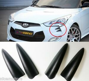 Sequence Devil Claw Bumper Molding 4ea For Hyundai Veloster Turbo 2012 2017