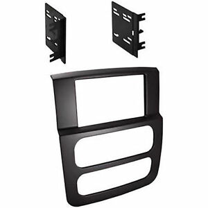 High Grade Dash Kit Dodge Ram 2002 2005 Double Din Stereo Install Black