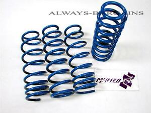 Manzo Lowering Springs Fits Civic 2012 2015 Fg 2 4dr Dx Lx Ex Si Lshc 12