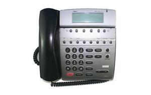 Lot Of 10 Fully Refurbished Nec Dtr 8d 2 Telephone black