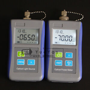 Fiber Optic Optical Laser Light Source 1310 1550nm Digital Optical Power Meter