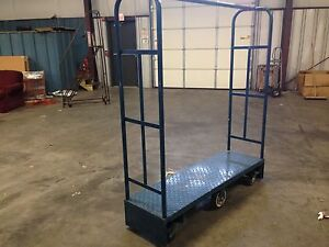 Food Service Metal Platform Rolling Cart