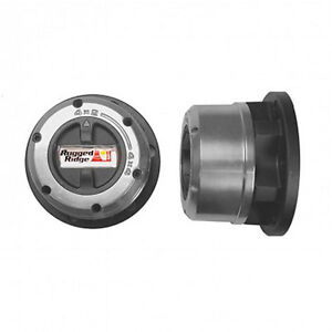 Manual Locking Hub Set For 1976 2004 Chevy Dodge And Ford Trucks
