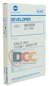 Dv511 Developer For Konica Minolta Bizhub 360 361 420 421 500 501 024g