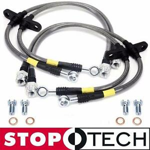 Stoptech Ss Stainless Steel Front Rear Brake Lines For 04 07 Subaru Impreza