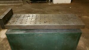 Precision Steel Cnc Sub Plate Subplate 11 X 33 Mill Haas Squaring Bridgeport