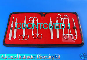 Advanced Instructor Dissecting Kit Set Stainless Steel Ds 717