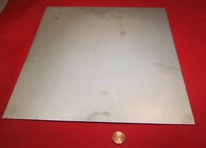 321 Weldable Stainless Steel Sheet 040 Thick X 12 Wide X 12 Length 1 Pc