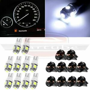 10x T10 White 194 Led Bulbs Instrument Gauge Cluster Dash Light For Chevrolet