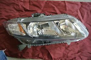 2010 14 Honda Civic Used Oem Rigth Headlight Assemblie Right