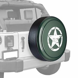 Oscar Mike Star Painted Tire Cover Freedom Edition Commando