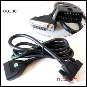 For Launch X431 3g Main Test Cable Crp123 Creader Vii Creader Viii Crp129