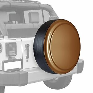 Boomerang painted Rigid Tire Cover Jeep Wrangler Copper Brown