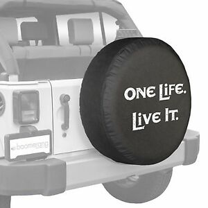 28 One Life Live It Tire Cover Boomerang Fits Jeep Wrangler Usa
