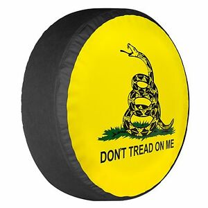 32 Don t Tread On Me Tire Cover Boomerang Fits Wrangler Usa