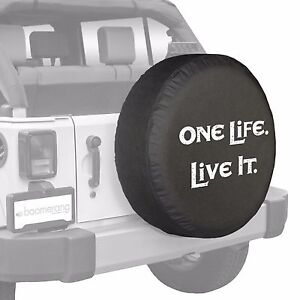 29 One Life Live It Tire Cover Boomerang Fits Jeep Wrangler Usa