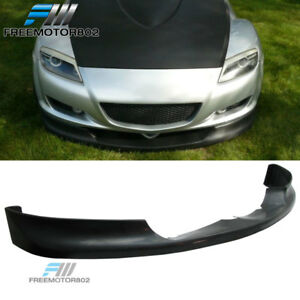 Fits 04 05 06 07 08 Mazda Rx8 Type Sport Front Bumper Lip Spoiler Urethane