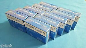 Lot Of 1000 Sterile Scalpel Surgical Carbon Steel Blades 15c