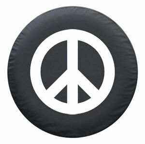28 Peace Sign Tire Cover White toyota Rav4 Usa