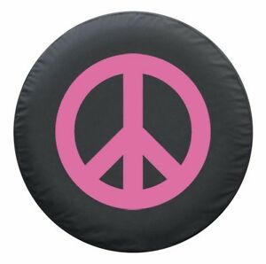 27 Peace Sign Tire Cover Pink Honda Crv Usa