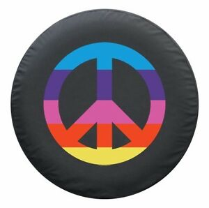27 Peace Sign Tire Cover Rainbow Honda Crv Usa