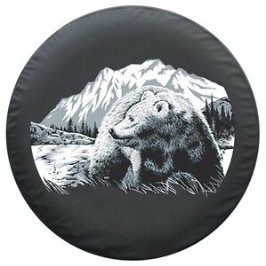 29 Wildlife Tire Cover Bear Fits Jeep Wrangler Tj Usa