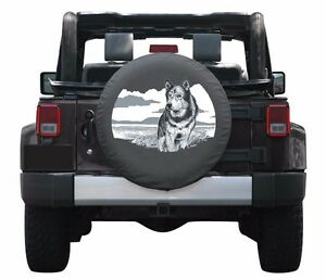 32 Wildlife Tire Cover Wolf Fits Jeep Wrangler Jk Usa