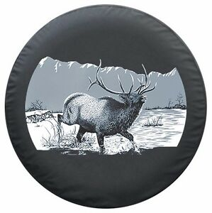 27 Wildlife Tire Cover Elk Honda Crv Usa