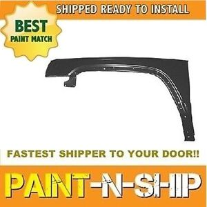 New Fits 2006 2007 2008 2009 2010 Jeep Commander Left Fender Painted Ch1240249