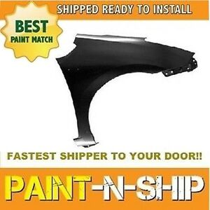 New 2007 2008 2009 Toyota Prius Right Fender Painted To1241218