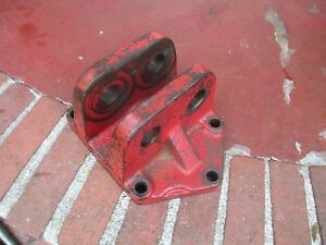 1979 International 3588 2 2 Farm Tractor 3 Point Hitch Top Link Bracket Free