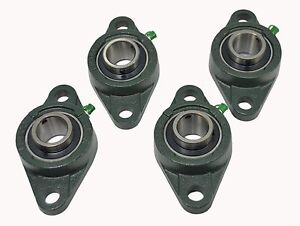 Ucfl206 20 1 1 4 2 Bolt Flange Block Mounted Bearing Unit qty 4