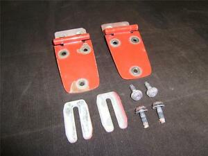 97 06 Used Jeep Wrangler Tj Hood Hinges red Factory Oem Used Great Condition