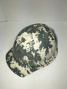 Hydro Dipped Hard Hat Digi Camo W Ratchet Strap Water Transfer Printed