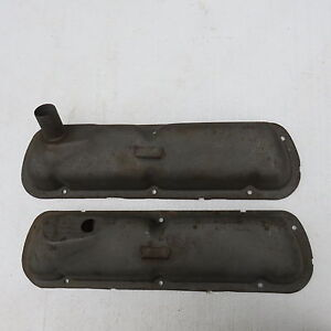 On Sale Rare 1962 63 64 260 289 Ford Factory Cobra Hi Po Code K Valve Covers