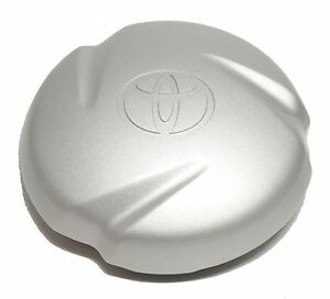 2000 2009 Toyota Tundra Sequoia Wheel Hub Center Cap Silver Oem