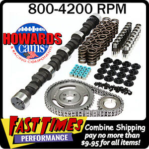 Howard s Bbc Big Block Chevy 263 263 476 476 111 Cam Camshaft Complete Kit