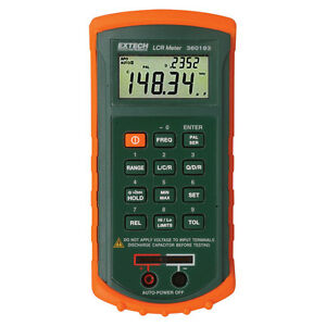Extech Instruments 380193 Passive Component Lcr Meter