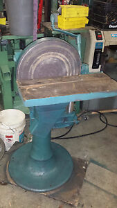 Oliver 182 15 Disc Sander Single Phase