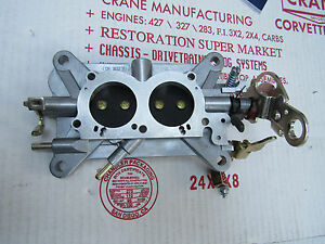 67 Corvette 3660 Base Plate Assembly Complete Tri Power 427 435hp 400 3x2