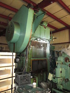 Blow Press Ltd Sc2 125 40 30 Ton Stamping Press 3 Stroke Servo Feed