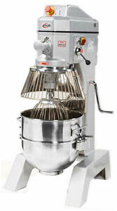 Axis Ax m40 Commercial 40qt General Purpose Planetary Kitchen Mixer New warranty