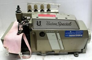 Union Special 39500 1 needle 3 thread Serger Industrial Sewing Machine 220v 3ph