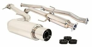 Megan Catback Cat Back Exhaust Drift Spec Ss 2 5 For 11 up Scion Tc 2 5 L